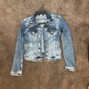H&M Jean Jacket Size Us2 Like New!